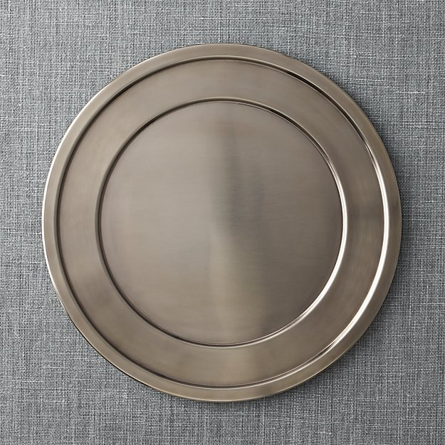 Lawrence Charger Plate Crate And Barrel