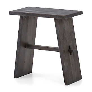 Lax Reclaimed Wood End Table