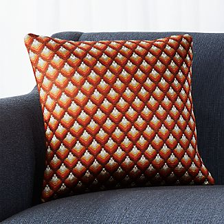 "Layla 16"" Pillow with Down-Alternative Insert"