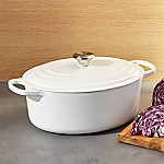 Le Creuset ® White 6.75-Qt. Oval French Oven