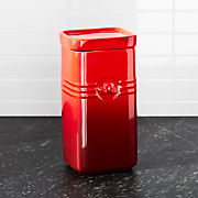 Red Kitchen Canisters | Crate and Barrel