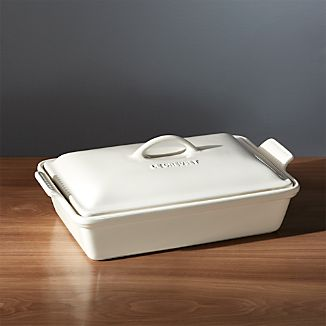 Le Creuset ® Heritage Covered Rectangle Cream Baking Dish