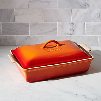 Le Creuset ® Heritage Covered Rectangle Flame Baking Dish