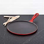 Le Creuset ® Cerise Red Crepe Pan with Rateau and Spatula