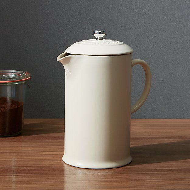 Le Creuset ® Cream French Press - Image 1 of 3