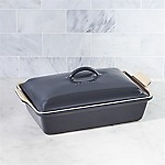 Le Creuset ® Heritage Covered Rectangle Graphite Grey Baking Dish