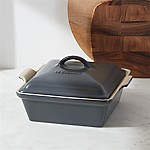 Le Creuset ® Heritage Covered Square Graphite Grey Baking Dish