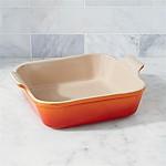 Le Creuset ® Heritage Flame 3-Qt. Square Baking Dish