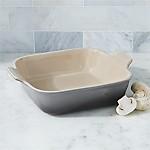 Le Creuset ® Heritage Oyster 3-Qt. Square Baking Dish