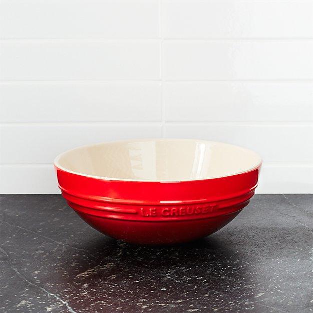 Le Creuset ® 1.7-Qt. Cerise Red Ceramic Multi Bowl