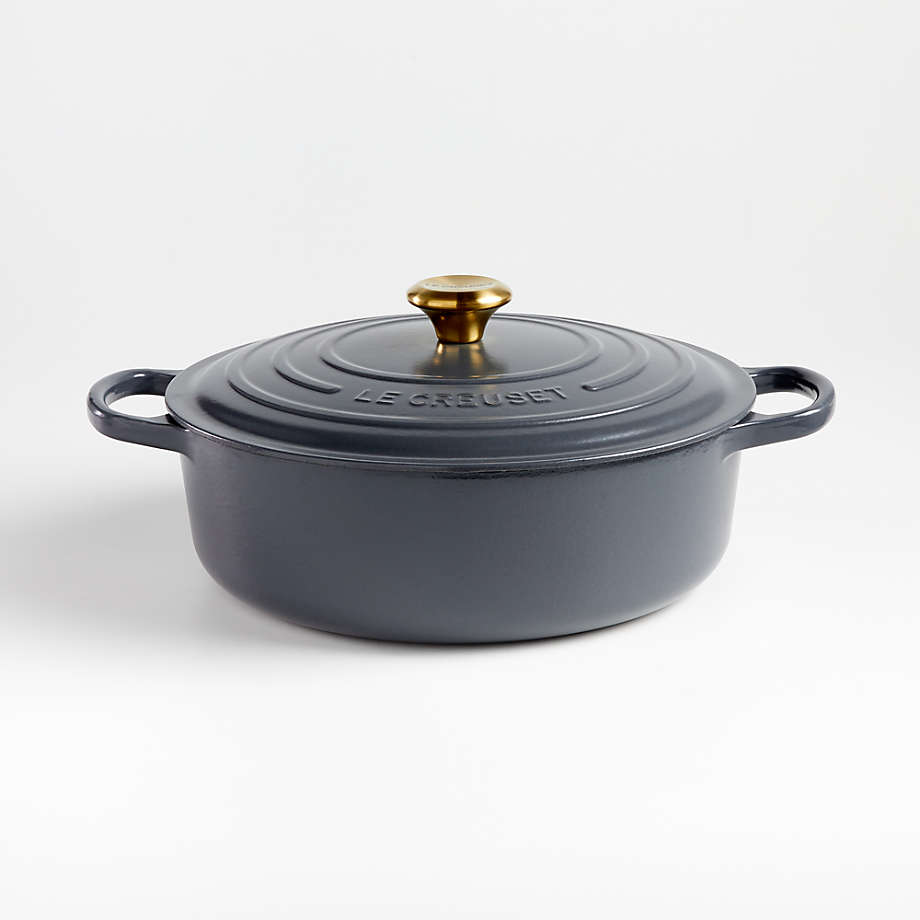 Viewing product image Le Creuset ® Signature 6.75-Qt. Graphite Round Wide Oven