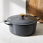 Le Creuset ® Signature 7.25-Qt. Graphite Grey Round Dutch Oven