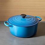 Le Creuset ® Signature 7.25-Qt. Round Marseille Blue Dutch Oven with Lid