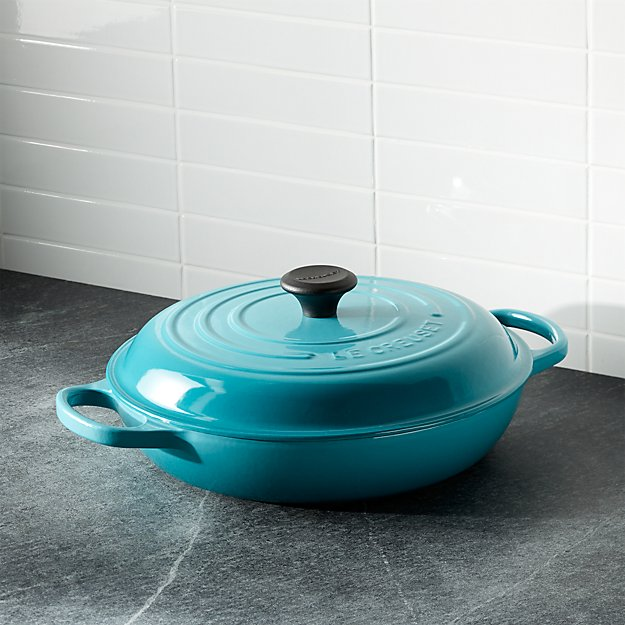 Le Creuset ® Signature 3.75-qt. Caribbean Everyday Pan