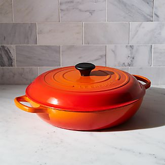 Le Creuset ® Signature 5-qt. Flame Everyday Pan