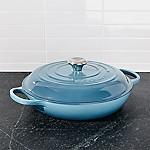 Le Creuset ® Signature 3.5 qt. Marine Blue Everyday Pan