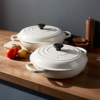 Le Creuset ® Signature Cream Everyday Pans