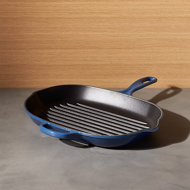 Le Creuset ® Signature Oblong Ink Grill Pan