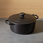 Le Creuset ® Signature 5.5-Qt. Round Licorice French Oven with Lid