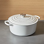 Le Creuset ® Signature 7.25-Qt. Round White French Oven with Lid