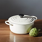 Le Creuset ® Signature 5.5 qt. Round Cream Dutch Oven with Lid