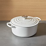 Le Creuset ® Signature 5.5-Qt. Round White Dutch Oven with Lid
