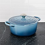 Le Creuset ® Signature 5.5-Qt. Marine Blue Round French Oven