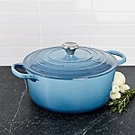 Le Creuset ® Signature 7.25-Qt. Marine Blue Round French Oven