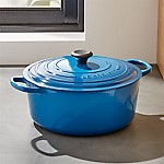 Le Creuset ® Signature 9-Qt. Round Marseille Blue French Oven with Lid