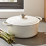 Le Creuset ® Signature 9-Qt. Round White Dutch Oven with Lid