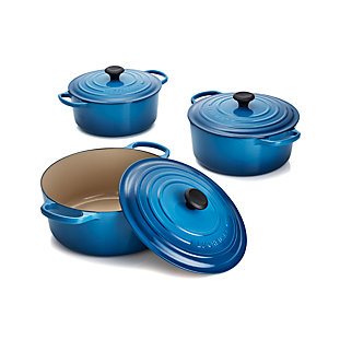 Le Creuset Heritage Covered Rectangle Marseille Blue
