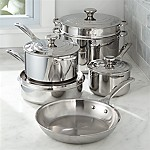 Le Creuset ® Signature Stainless Steel 10-Piece Cookware Set