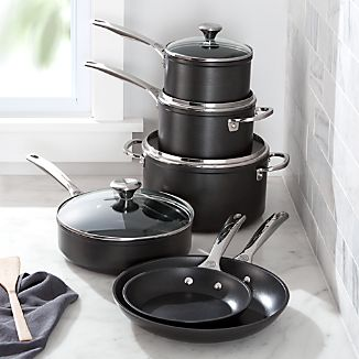 Le Creuset ® 10-Piece Toughened Nonstick Cookware Set
