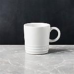 Le Creuset ® White Espresso Mug