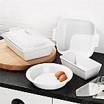 Le Creuset ® White 5-Pc. Stoneware Set