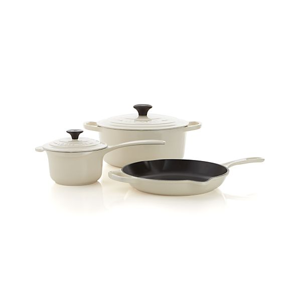 Le Creuset ® Cream 5-Piece Cookware Set