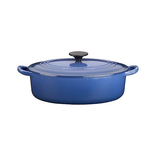 Le Creuset ® 3.5-Quart Cobalt Oval French Oven