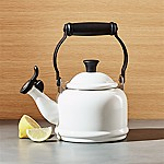 Le Creuset © 1.25-Qt. Demi White Tea Kettle