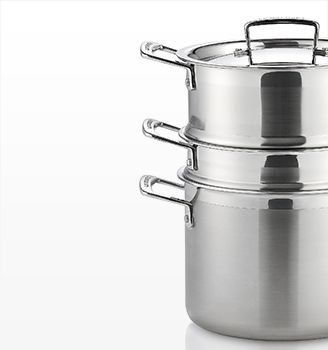 Le Creuset 5.25 qt. Stainless Steel Multipot
