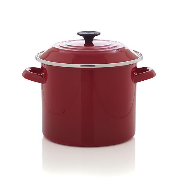 Le Creuset ® 8 qt. Red Stock Pot