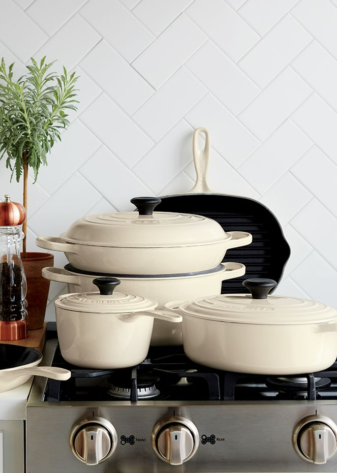 Le Creuset Signature Cookware in Cream