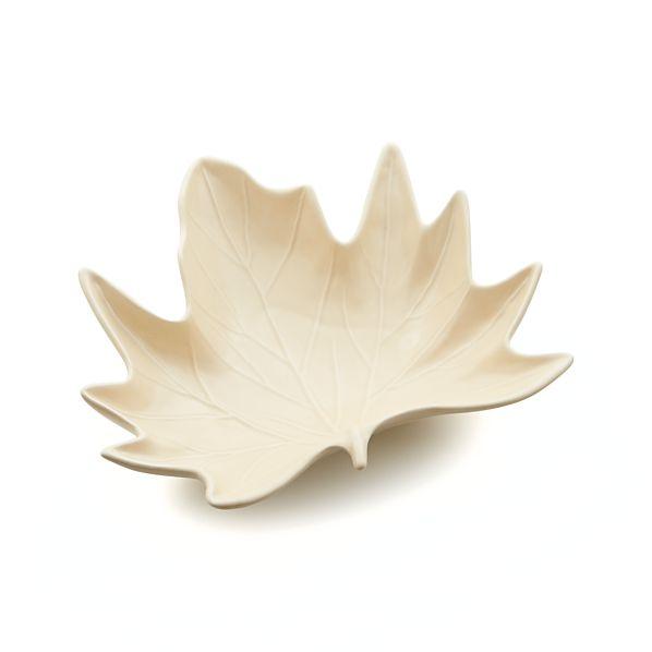 Maple Leaf Centerpiece Bowl