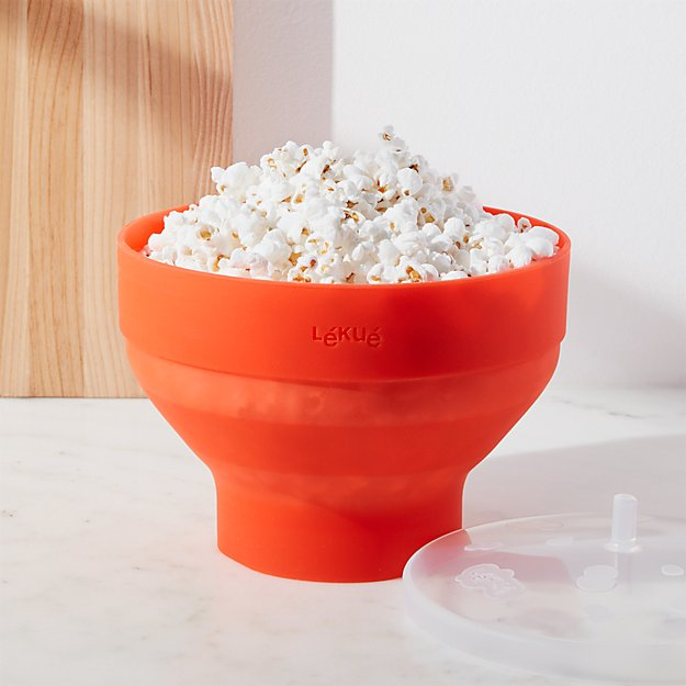 Lekue Microwave Popcorn Maker Reviews Crate And Barrel