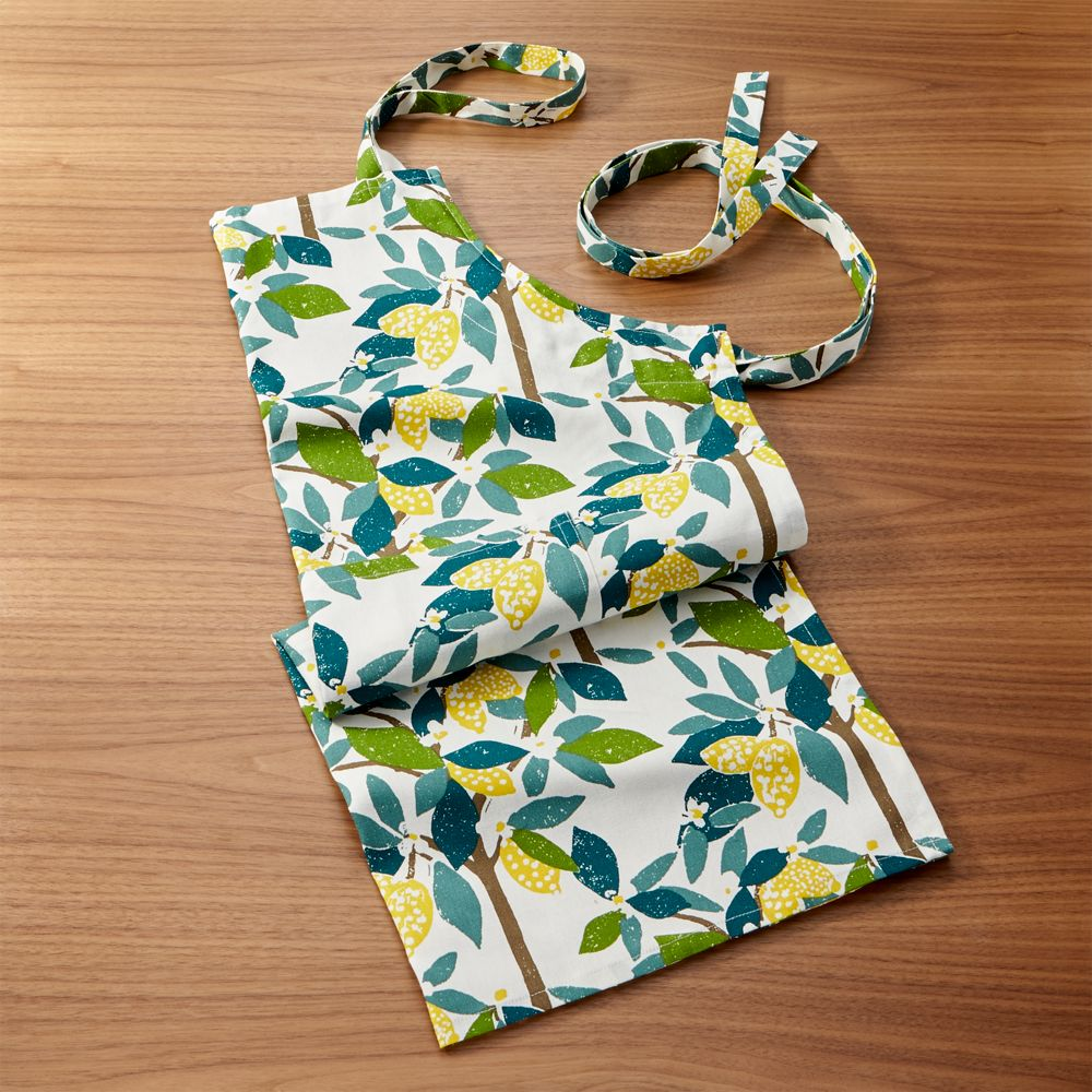 Lemon Tree Apron - Crate and Barrel
