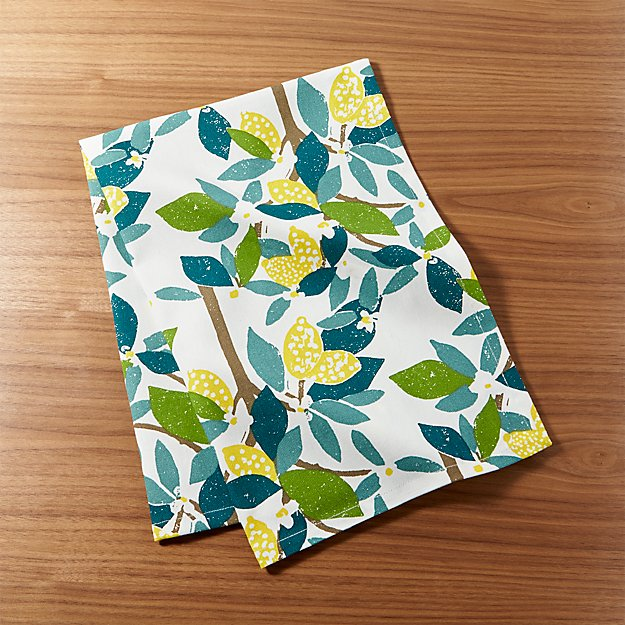 Lemon Tree Dish Towel