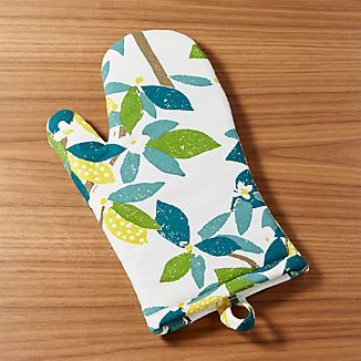 Lemon Tree Oven Mitt