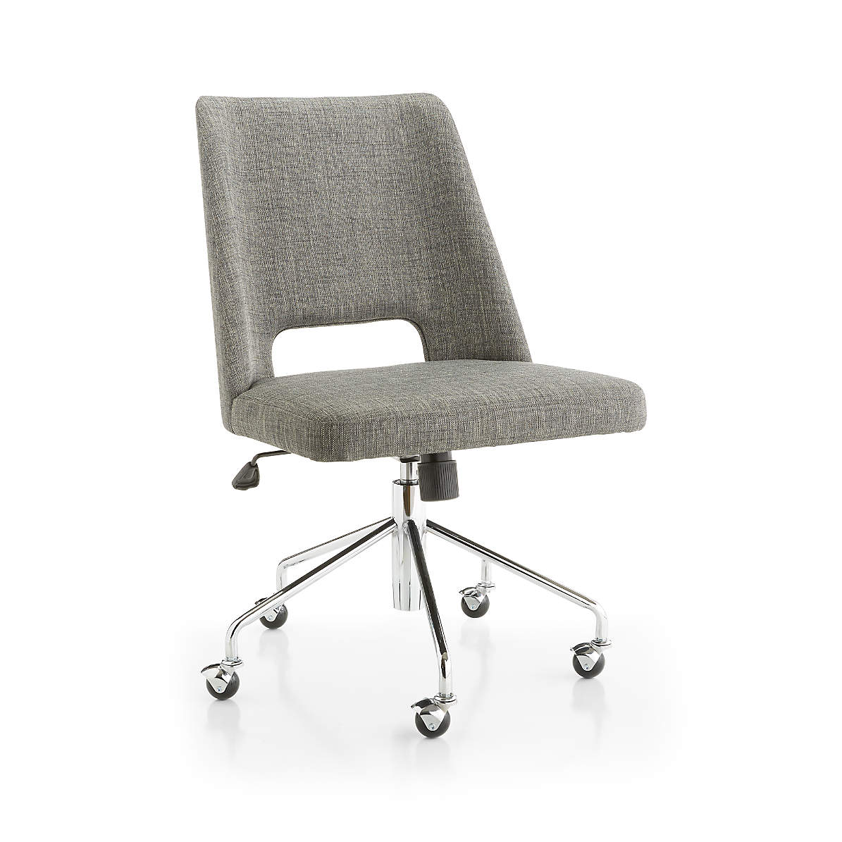 Leo Upholstered Office Chair Reviews Crate And Barrel