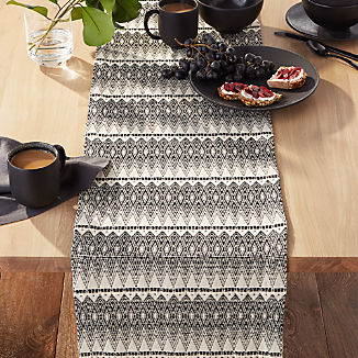"Leon 90"" Tassel Table Runner"