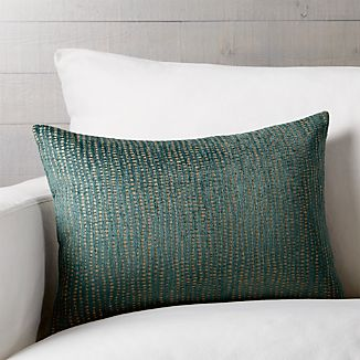 "Leona 22""x15"" Pillow with Down-Alternative Insert"