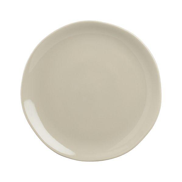 "Leone 8.25"" Grey Plate"